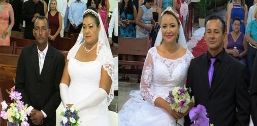 Casamento de Paulo S�rgio & Nic�lia - Cezar & Simone - Fotos Ney Cunha