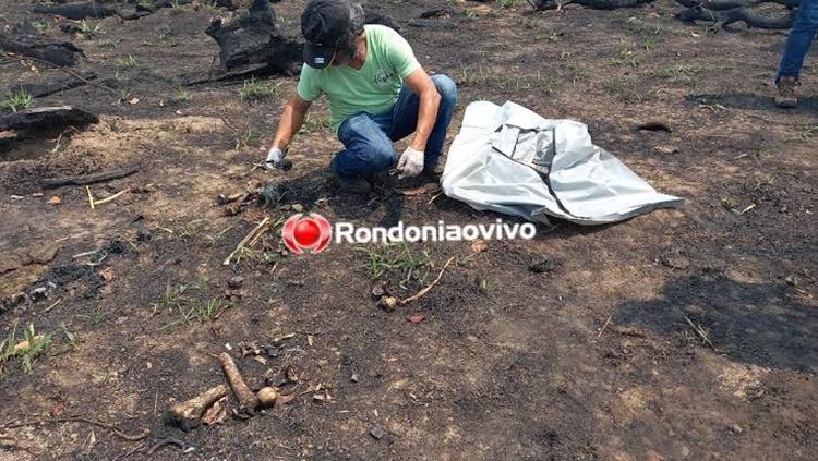 RESTOS MORTAIS: Ossada humana é encontrada por trabalhadores próximo a BR-364