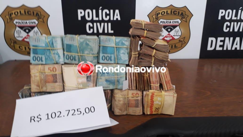 OPERAÇÃO HÓRUS: Denarc prende suspeito de tráfico com pistola e mais de R$ 100 mil